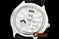 Piaget Emperador Coussin Dual Time SS/LE TWF Asia Clone 850P