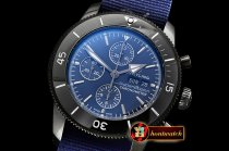 Breitling SuperOcean Heritage II Chrono PVD/NY Blue ANF A7750