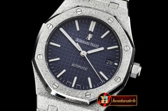 Audemars Piguet Royal Oak 37mm Frosted SS/SS Blue JHF MY9015