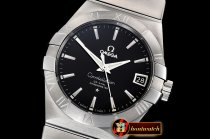Omega Constellation Co-Axial 38mm SS/SS Black VSF Asia 8500