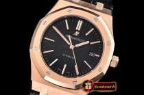 Audemars Piguet Royal Oak 15400 RG/LE Black OMF MY9015 Mod 3120