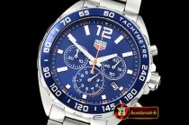 Tag Heuer Tag F1 Red Bull Racing Ed. SS/SS Blue VK Qtz Chrono