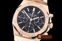 Replica Audemars Piguet Royal Oak Chronograph 26320ST RG/RG Blac