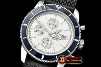 Breitling SuperOcean Heritage II Chrono SS/RU White OMF A7750