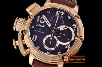 Replica U-BOAT Chimera Bronze Chronograph BZ/LE Brown A7750