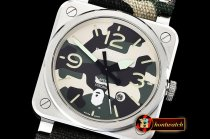 Bell&Ross BR03-92 42mm XXV Bathing Ape SS/NY Camo MY9015