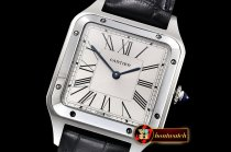 Cartier Santos Dumont 31mm SS/LE White XF Swiss Quartz