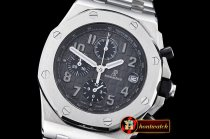 Replica Audemars Piguet Royal Oak Offshore SS/SS Grey VK Qtz