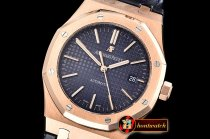 Audemars Piguet Royal Oak 15400 RG/LE Blue OMF MY9015 Mod 3120
