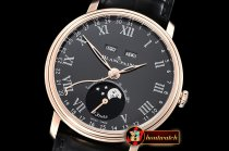 Blancpain Villeret Complications RG/LE Blk/Rmn OMF Miyota 9015