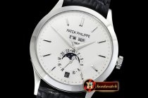 Patek Philippe Annual Cal. Moonphase Ref.5396 SS/LE Wht/St KMF MY9015