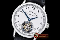 Replica Alange & Sohne 1815 Tourbillon SS/LE White Asia Manual W