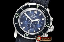 Blancpain Fifty Fathoms Flyback Chrono SS/NY Blue OMF Asia 7750