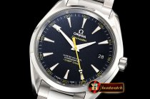 Omega Aqua Terra 150m 007 James Bond SS/SS Blue VSF V3 A8500