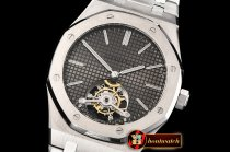 Audemars Piguet Royal Oak Extra Thin Tourb SS/SS Grey JF Flying Tourb