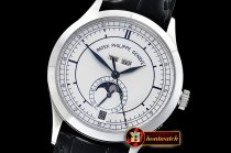 Patek Philippe Annual Cal. Moonphase Ref.5396 SS/LE White KMF MY9015