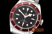 Tudor Heritage Black Bay Shield SS/SS Red/Blk ZF Asia 2824