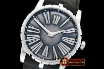 Roger Dubuis Excalibur DBEX0050 SS/LE Silver RDF Asia 23J Mod