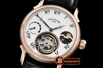 Patek Philippe Complications MoonPhase Day/Ngt PR RG/LE White -