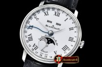 Blancpain Villeret Complications SS/LE Wht/Rmn OMF Miyota 9015