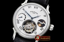 Patek Philippe Complications MoonPhase Day/Ngt PR SS/LE White -