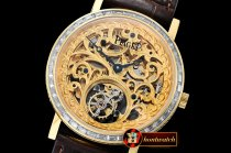 Piaget Altiplano Skeleton Tourb Diams YG/LE Engr Tourbillon