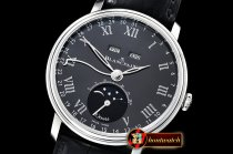 Blancpain Villeret Complications SS/LE Blk/Rmn OMF Miyota 9015