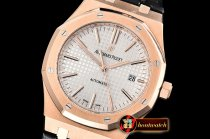 Audemars Piguet Royal Oak 15400 RG/LE White OMF MY9015 Mod 3120