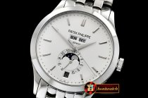 Patek Philippe Complication GMT Moonphase 5396G SS/SS White MY9015