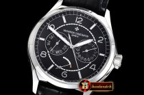 Vach. Constantine Traditionnelle Day-Date & Power Reserve SS/LE Blk A2475