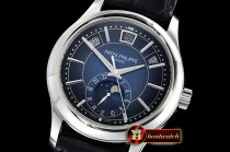 Patek Philippe Annual Cal. Moonphase Ref.5205 SS/LE Blue GRF MY9015
