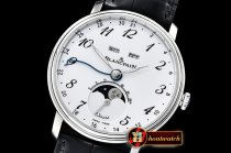 Blancpain Villeret Complications SS/LE Wht/Num OMF Miyota 9015