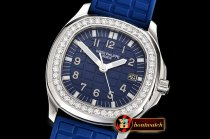 Patek Philippe Aquanaut Ref.5067A 35mm SS/RU Blue PPF Swiss Qtz