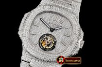 Patek Philippe Nautilus 40mm Tourbillon Fantasy DIAM/SS Asia HW Tourb