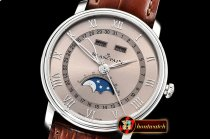 Blancpain Villeret Complications SS/LE Brown OMF V2 Miyota 9015