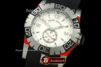 Roger Dubuis Replica Easy Diver Automatic SS/RU White