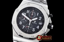 Replica Audemars Piguet Royal Oak Offshore SS/SS Black VK Qtz