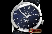 Patek Philippe Annual Cal. Moonphase Ref.5396 SS/LE Blue/St KMF MY9015