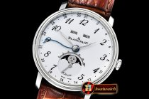 Blancpain Villeret Complications SS/LE2 Wht/Num OMF Miyota 9015