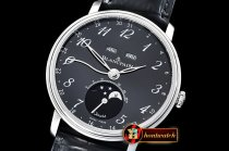 Blancpain Villeret Complications SS/LE Blk/Num OMF Miyota 9015