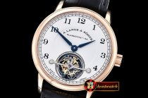 Replica Alange & Sohne 1815 Tourbillon RG/LE White Asia Manual W