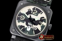 Bell&Ross BR03-92 42mm XXV Bathing Ape PVD/NY Camo MY9015