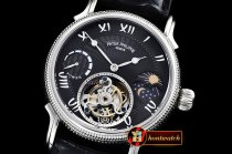 Patek Philippe Complications MoonPhase Day/Ngt PR SS/LE Black -