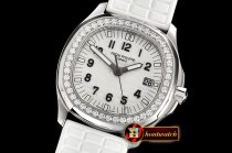 Patek Philippe Aquanaut Ref.5067A 35mm SS/RU White PPF Swiss Qtz