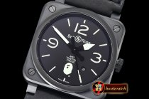 Bell&Ross BR03-92 42mm XXV Bathing Ape PVD/LE Black MY9015