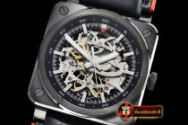 Bell & Ross BR03-92 42mm Aero GT PVD/LE Black Skele MY9015