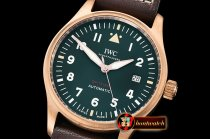 IWC Pilot Spitfire Bronze BRZ/LE Green XF 1:1 Asia 2824