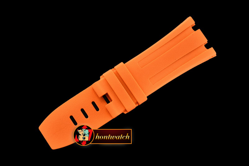 APACC014A - Orange Rubber Strap for AP Diver