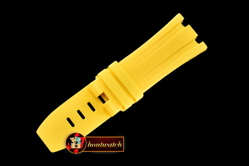 APACC014B - Yellow Rubber Strap for AP Diver