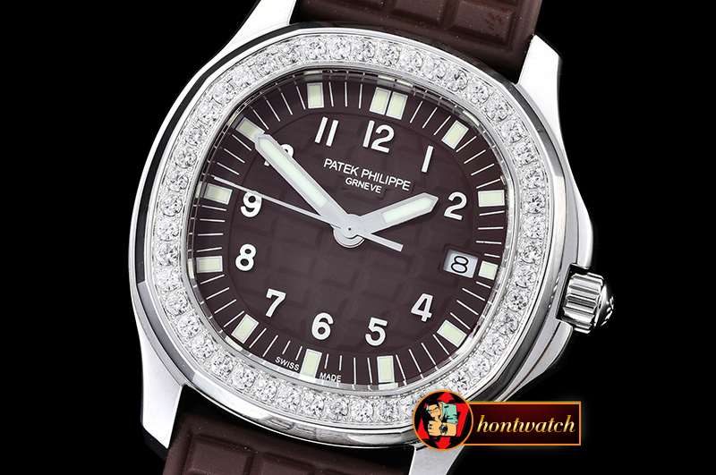 Replica Patek Philippe Aquanaut Ladies 5067A Diams Bez SS/RU Bro